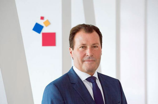 Wolfgang Marzin, President and CEO Messe Frankfurt GmbH